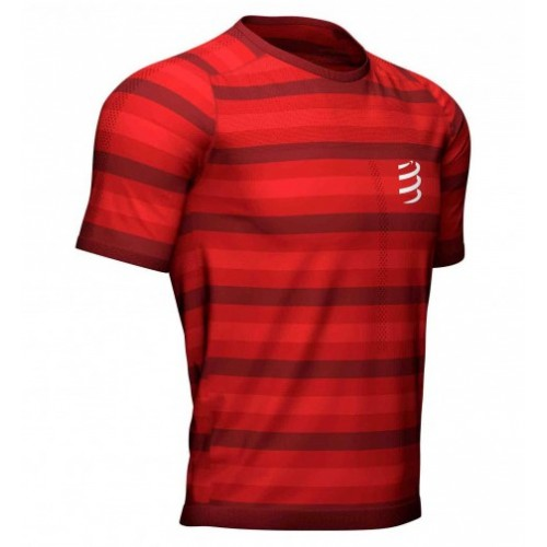 Compressport camiseta m/c Performance SS Red