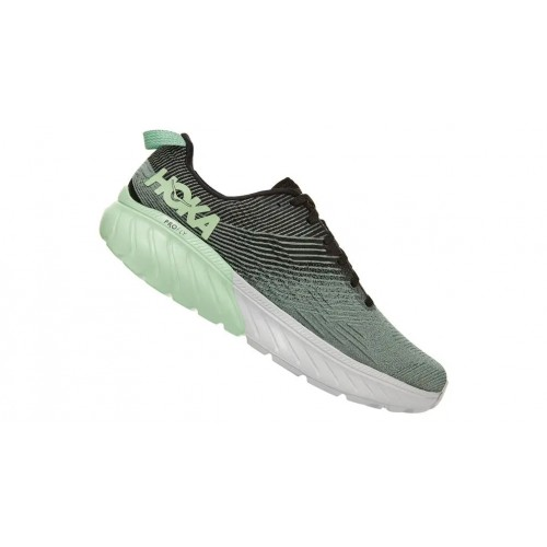 Hoka One One Mach 3 Green Ash / Black