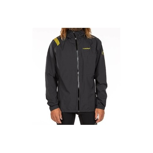 La Sportiva Run Jacket M Waterproof Black