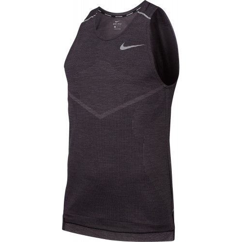 Nike Camiseta Techknit Ultra Tank Black/Grey