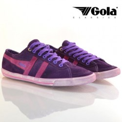 QUOTA SUEDE PURPLE