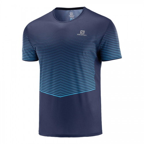 Salomon Camiseta m/c Sense Tee M Night Sky