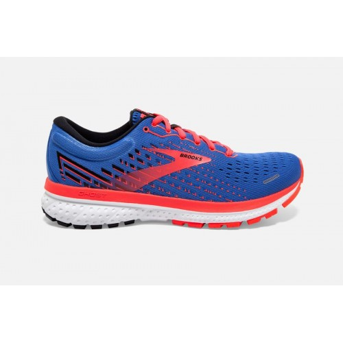 Brooks Ghost 13 W Blue / Coral