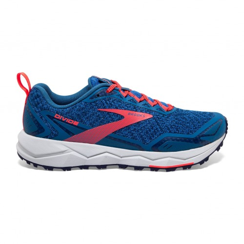 Brooks Divide W Blue / Coral