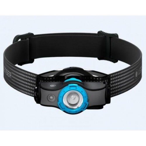 Led Lenser frontal MH5 New 400lm Negro / Azul
