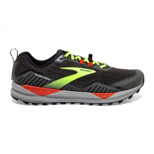 Brooks Cascadia 15 Black / Cherry