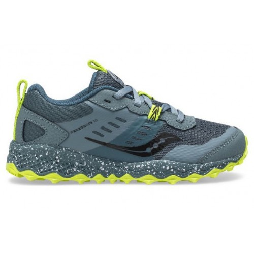 Saucony Peregrine 10 Shield Kids Blue