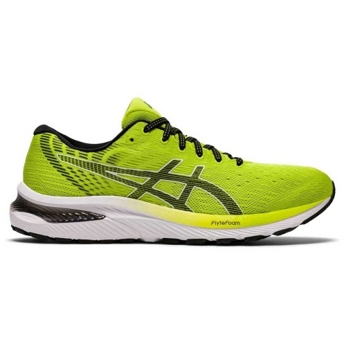 Asics Gel Cumulus 22 Lime / Black