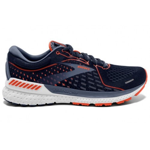 Brooks Adrenaline GTS 21 Hombre 1103491D452 Navy/Red