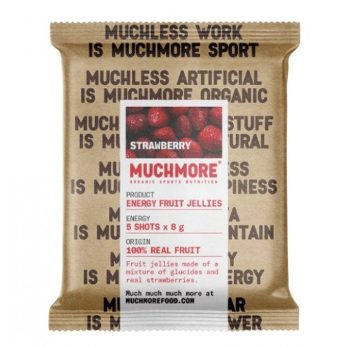 Muchmore Energy Fruit Jellies Strawberry