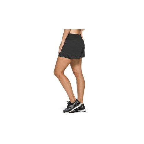 Asics Ventilate 2N1 3.5IN Short Black Mujer 2012A772-001