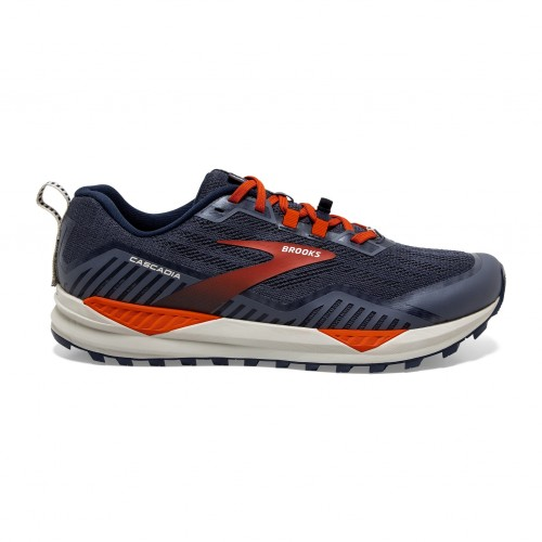 Brooks Cascadia 15 Navy/Orange Hombre 1103401D418