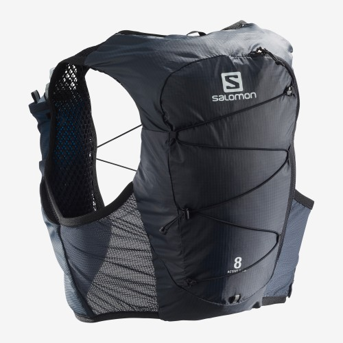 Mochila Salomon Active Skin 8l. Ebony LC1303700