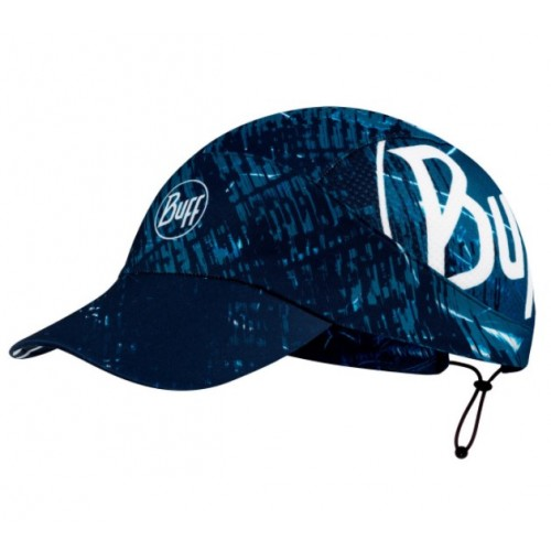 BUFF Pack Run Cap XCross S/M Blue