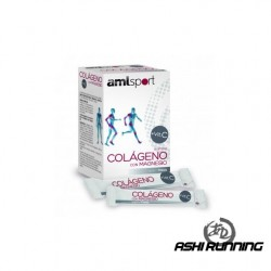 AMLSPORT COLAGENO+MAG. X20 STICKS FRESA
