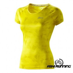 ASICS CAMISETA GRAPHIC SCOOP TOP W 110573 2011