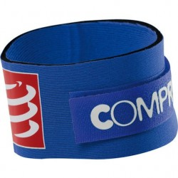 Cinta porta chip Compressport Azul