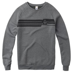 LE COQ SPORTIF CARIDOU CREW SWEAT M HEATHER CHARCO