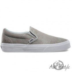 VANS CLASSIC SLIP-ON (Pebble Snake) Glacier Gray